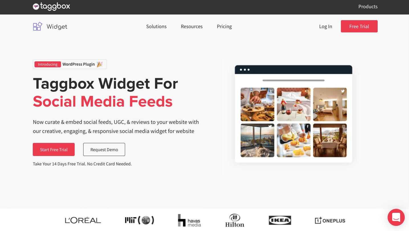 Taggbox Widget WordPress Plugin