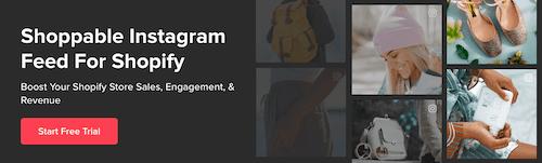 instagram feed on shopify
