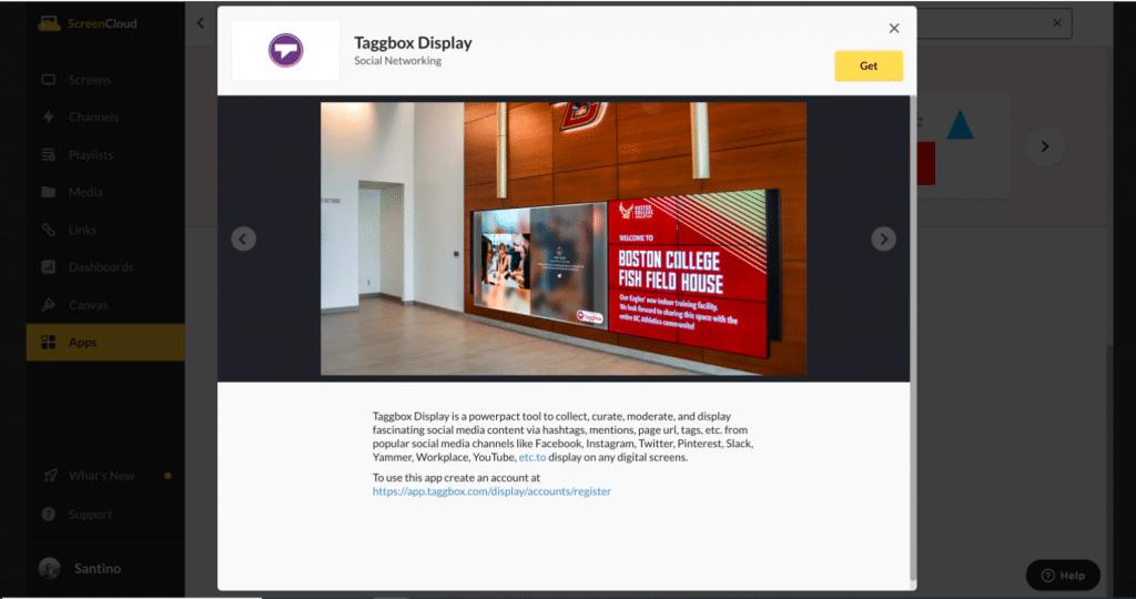 Taggbox Display App Guide - Screencloud