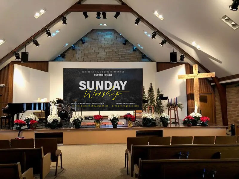 Charm Of Sunday Service