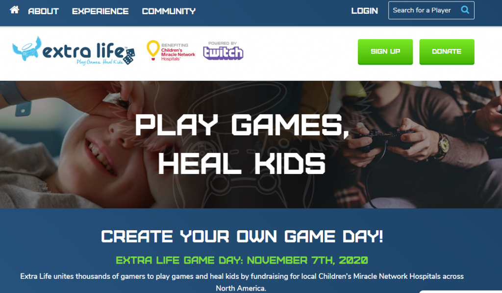 virtual fundraising games