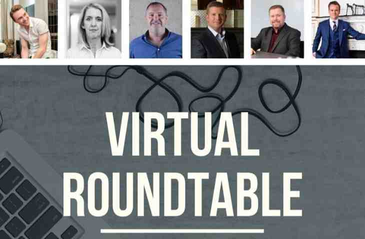 virtual fundraising round table