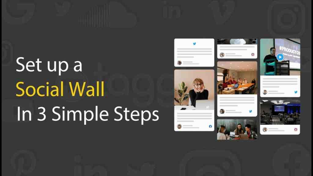 social wall taggbox youtube