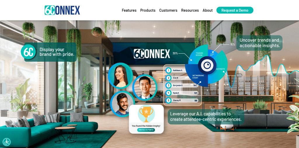 6Connex Virtual Event Platform