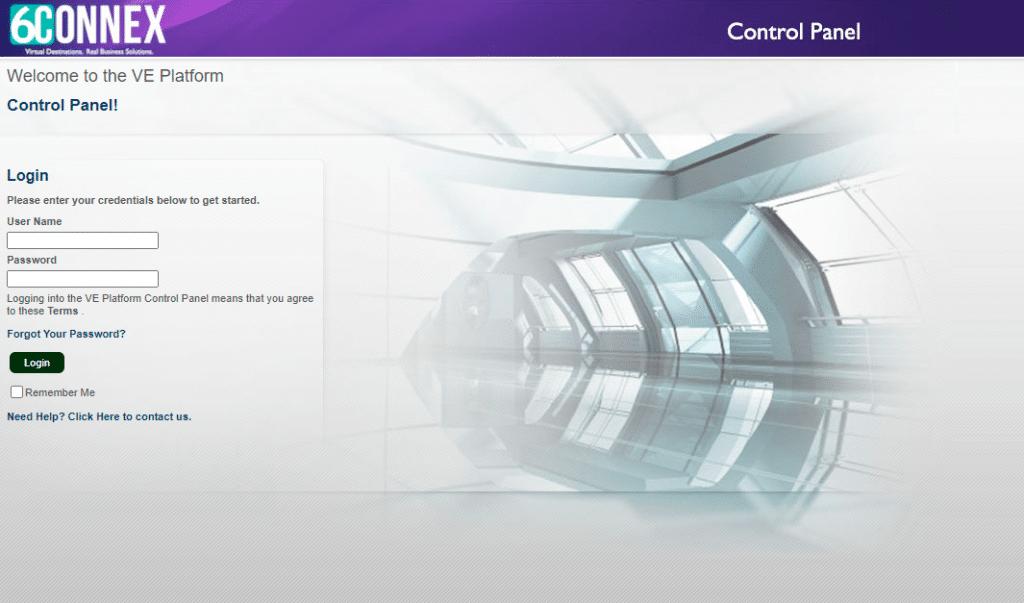 6Connex Control Panel