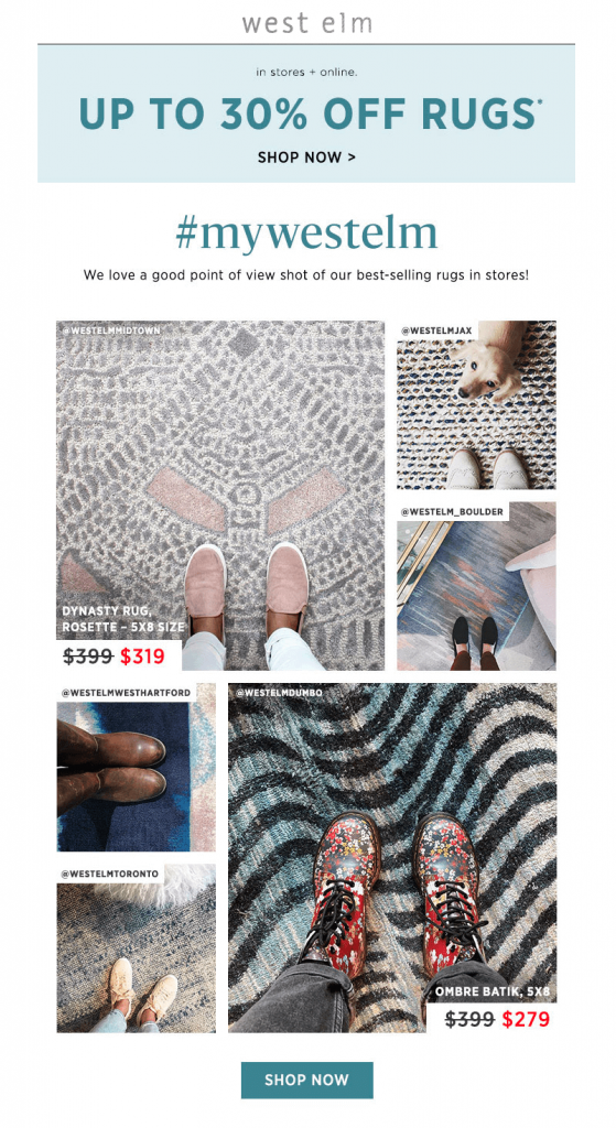 Personalize Emails Using UGC