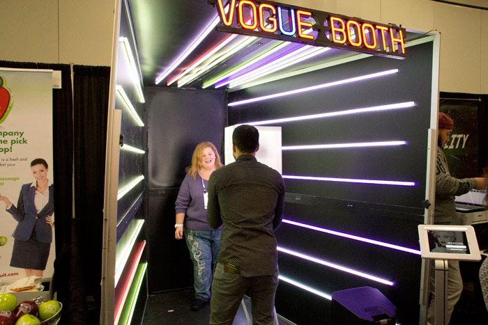 UGC photo booth