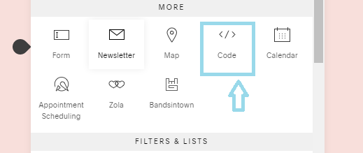 Add RSS feed on squarespace website