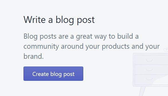 Create Shopify blog post for Embed Instagram