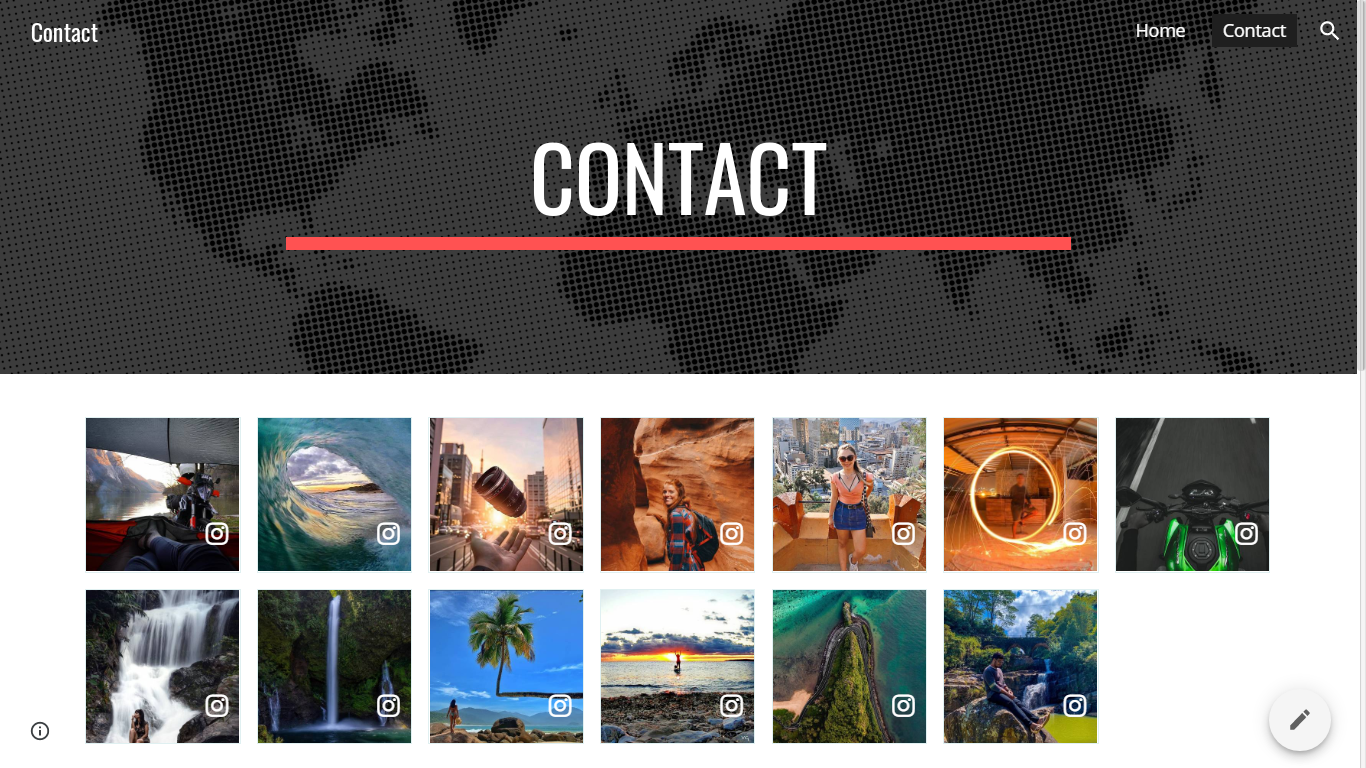 Integrate Embed Instagram feed on Google site