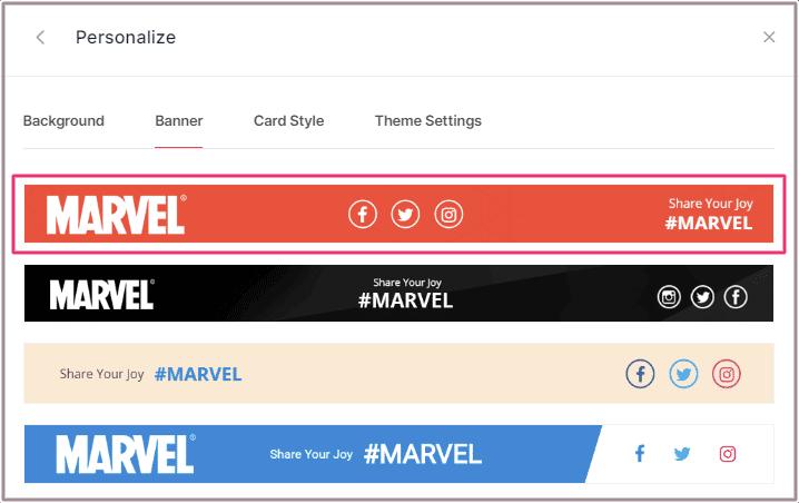 Select Banner
