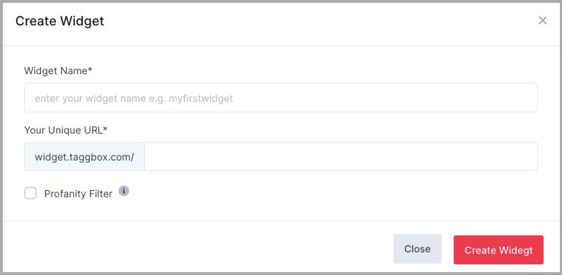 taggbox widget