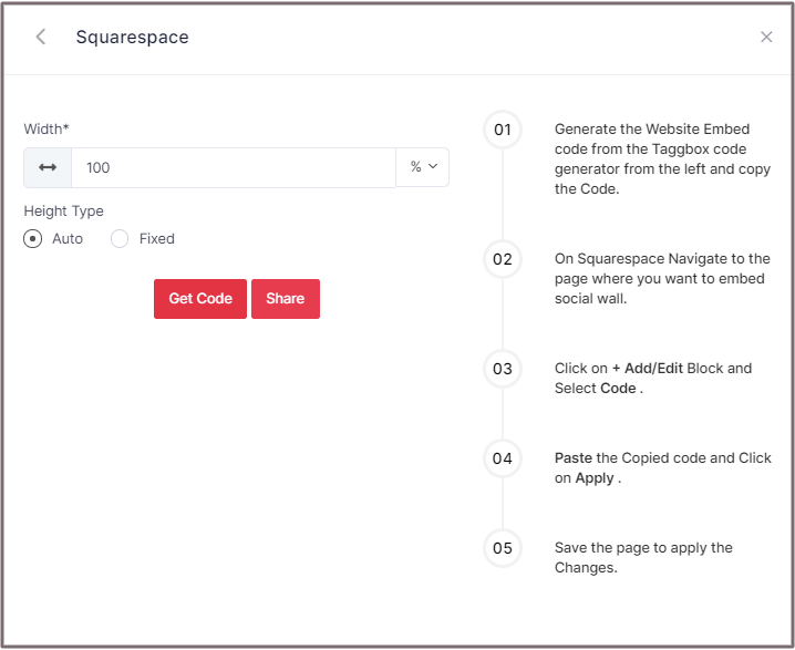 add rss feed to squarespace