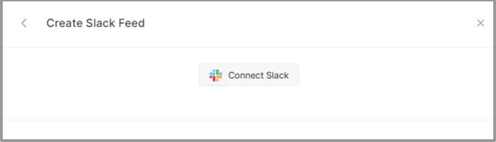 Connect Slack