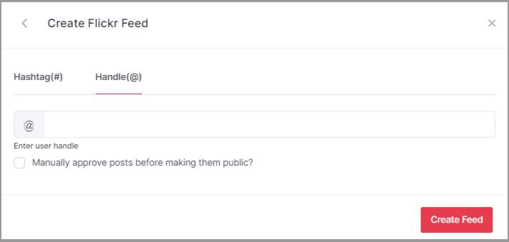 create flickr album through keyword