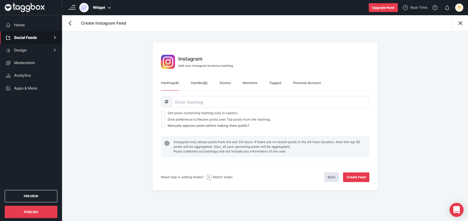 Collect Instagram Posts Using Hashtag