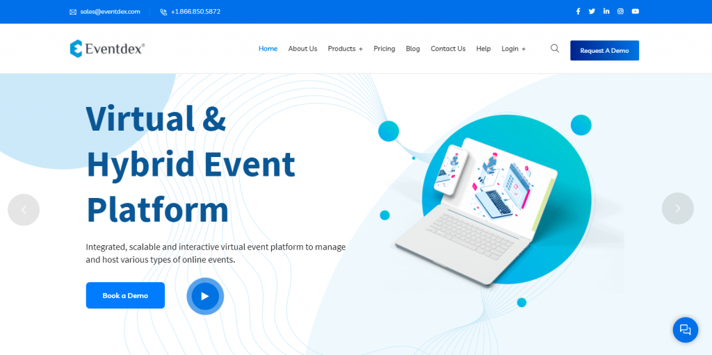 Eventdex virtual event platform